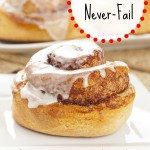 No-Knead, Never-Fail Cinnamon Rolls