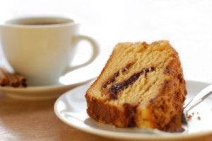 cinnamon coffee cake 300x199 Cinnamon Streusel Coffee Cake:  The Anti Chocolate Birthday Cake