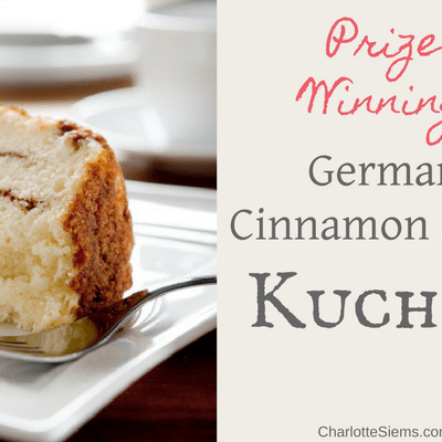 Prize-Winning German Cinnamon Swirl Kuchen