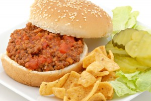 sloppy joes 300x200 Summer Fun and Summer Meals