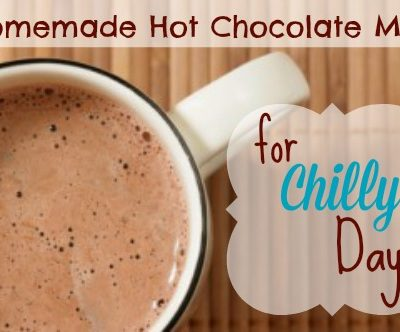 Homemade Hot Chocolate Mix for Chilly Days