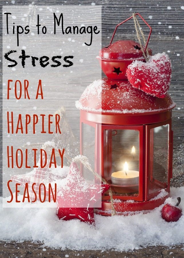 Tips to Manage Stress for a Happier Holiday Season