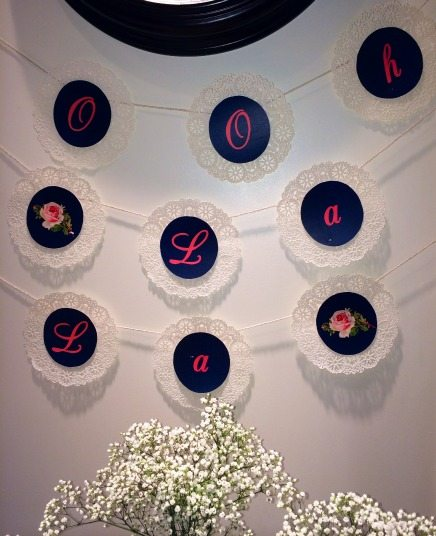 lingerie shower decor Lingerie Shower for a Bride to Be