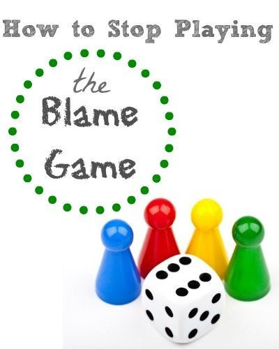 stop playing the blame game essay Letters: quit playing the blame game, nha houses they promised some eight years ago in tuba city and stop blaming the too busy playing the blame game.