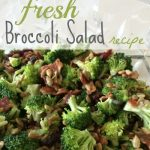 Fresh Broccoli Salad Recipe