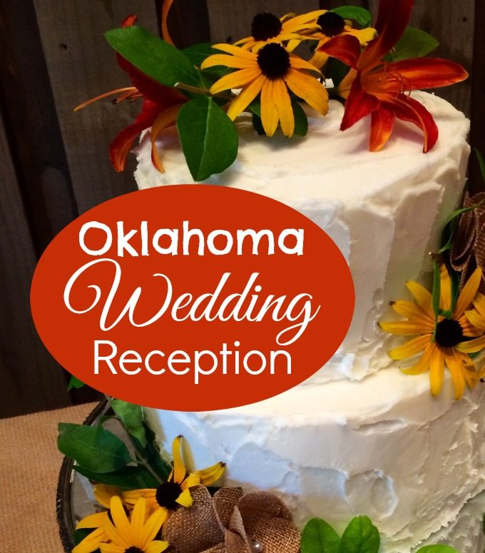 Oklahoma Wedding Reception