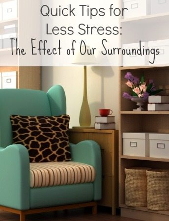 The Effect of Our Surroundings