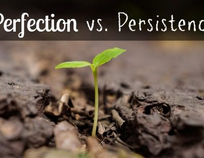 Perfection vs. Persistence