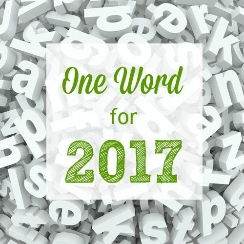 One Word for 2017
