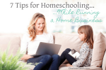 7 Tips for Homeschooling While Running a Home Business