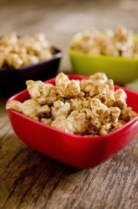 Microwave Caramel Corn: Yummy Treat in a Brown Paper Bag