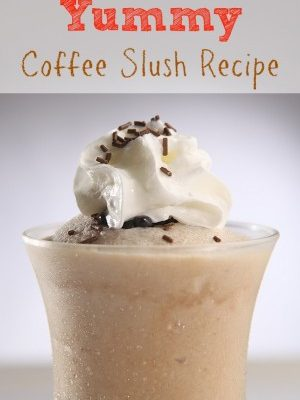 Yummy Coffee Slush Recipe