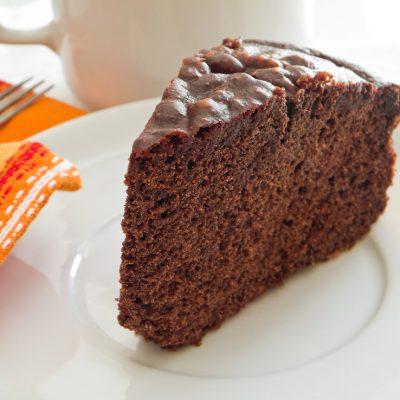 Homemade Mocha Chocolate Cake