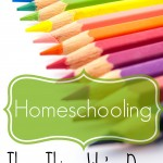 Homeschooling: Three Things We've Done for 26 Years