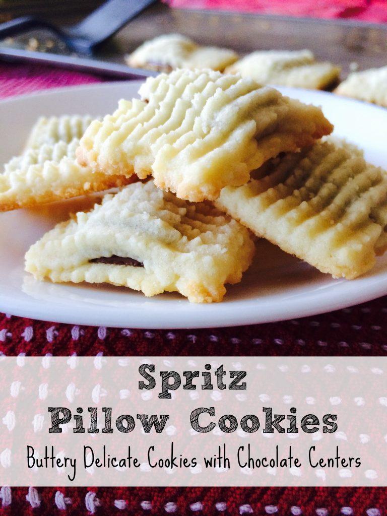 Spritz Pillow Cookies
