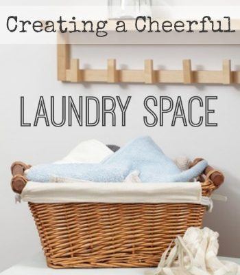 Creating a Cheerful Laundry Space