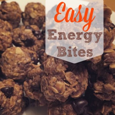 Easy Energy Bites