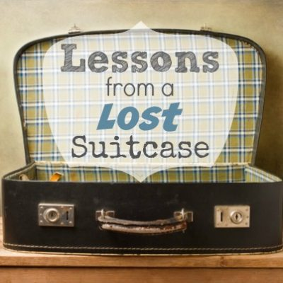 Lessons From a Lost Suitcase