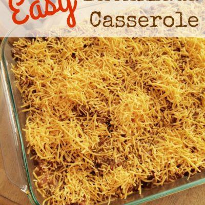 Easy Enchilada Casserole