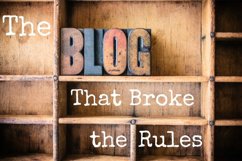 The Blog That Broke the Rules