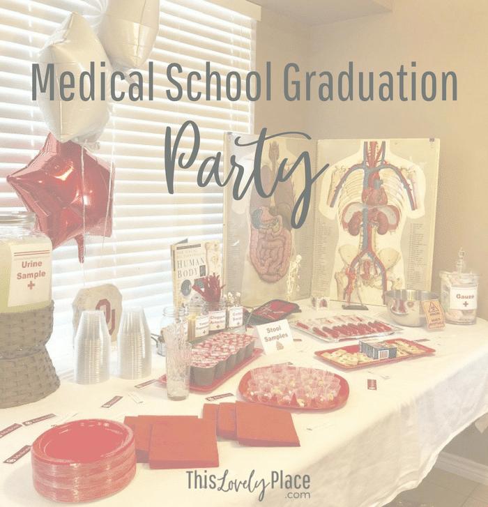 Medical School Graduation Party