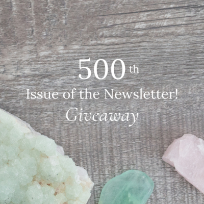 500th Issue of the Newsletter